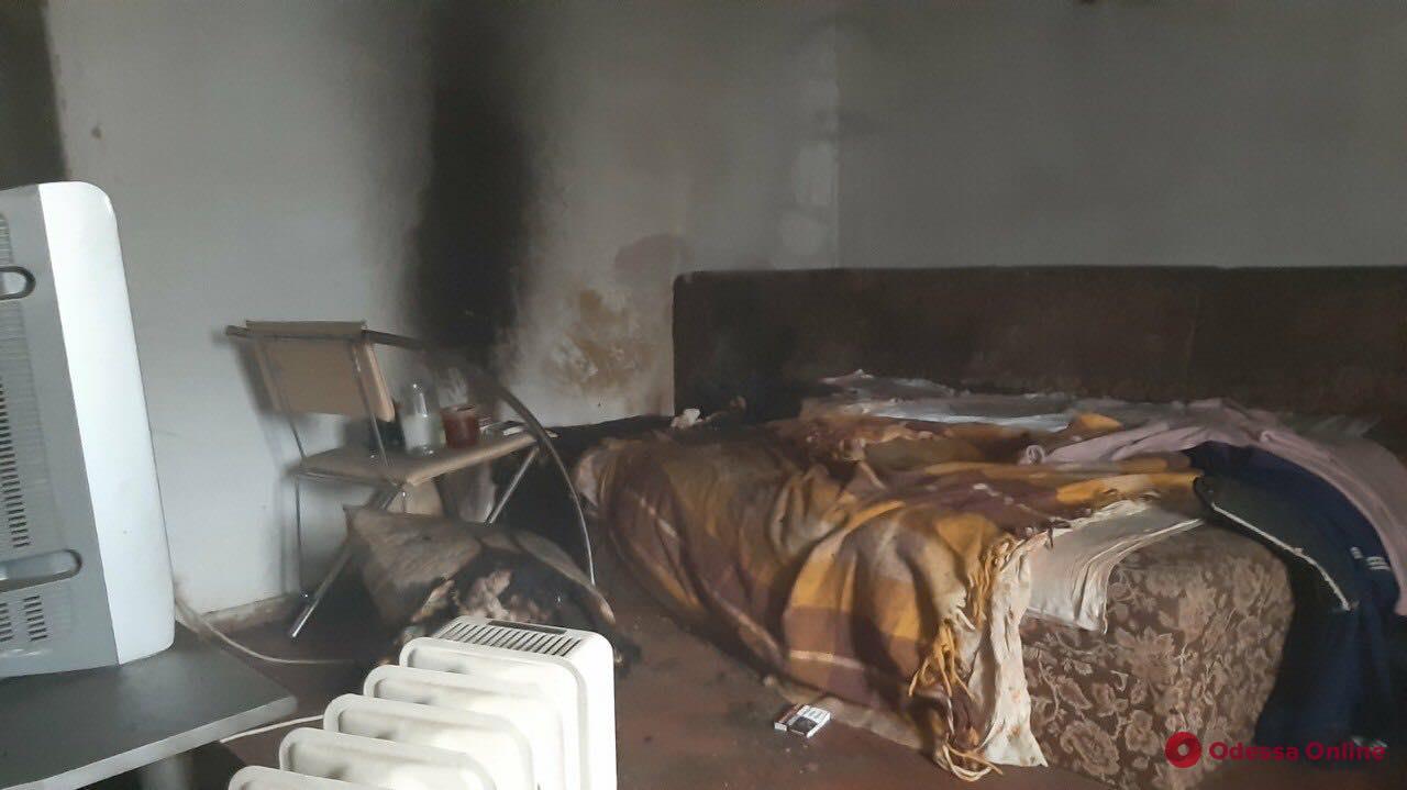 В Измаиле на пепелище нашли труп