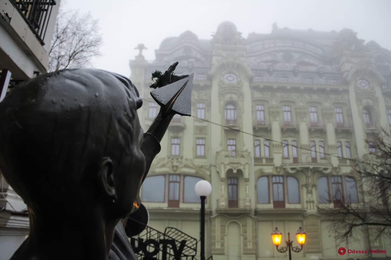 В Одессе ночью и утром ожидается туман