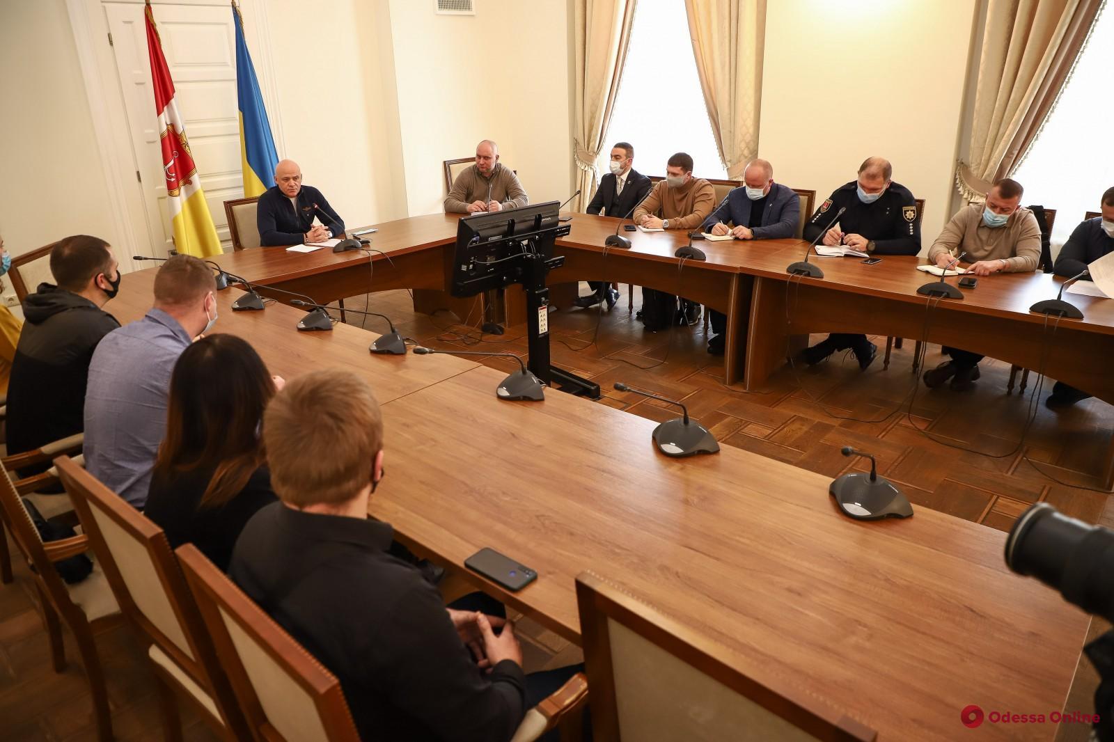 Мэр Одессы Геннадий Труханов встретился с дрифтерами