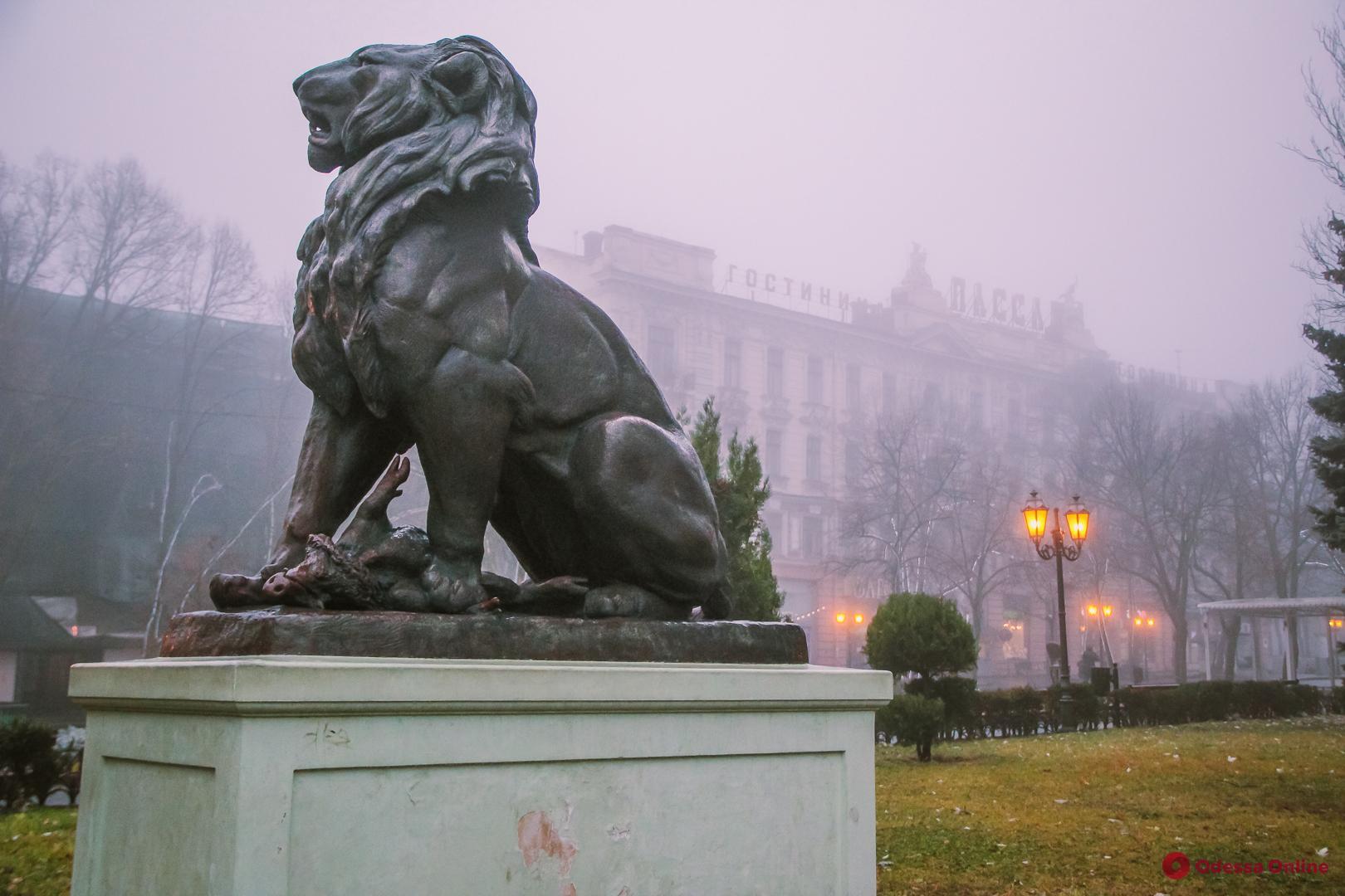 Туман и дождь: погода в Одессе 25 декабря