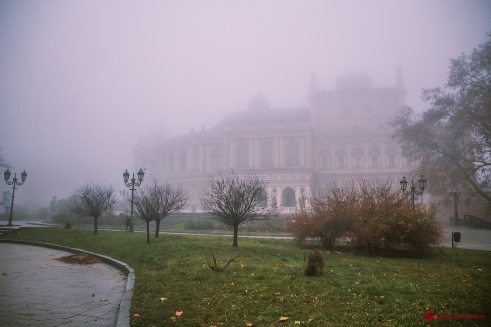 О погоде: 5 январе в Одессе ожидается дождь и туман