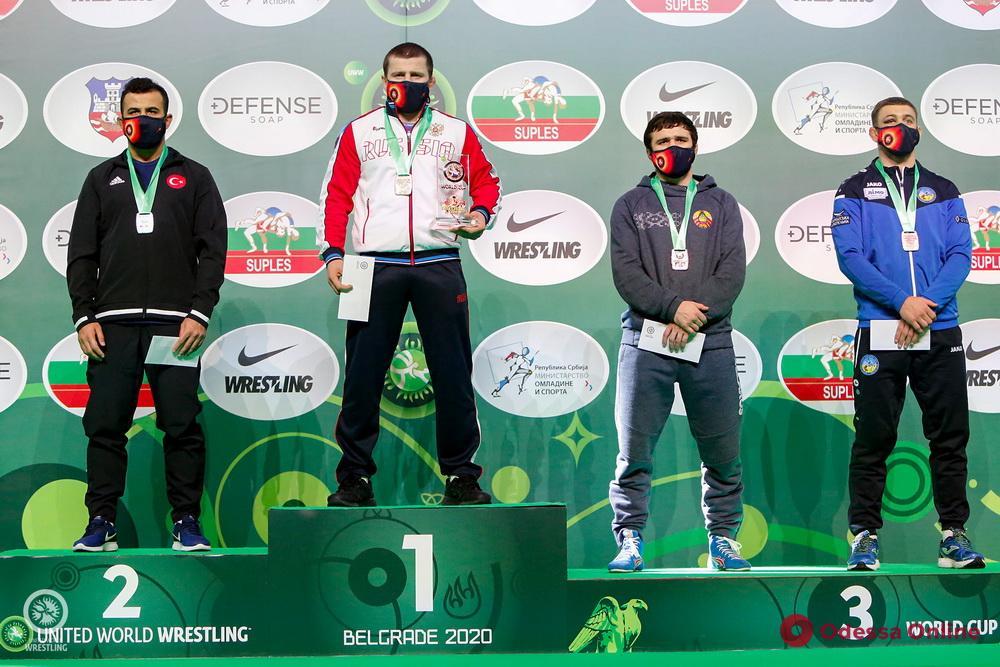 Борец из Одесской области завоевал медаль Кубка мира