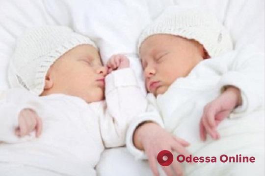 На минувшей неделе в Одессе родились три двойни
