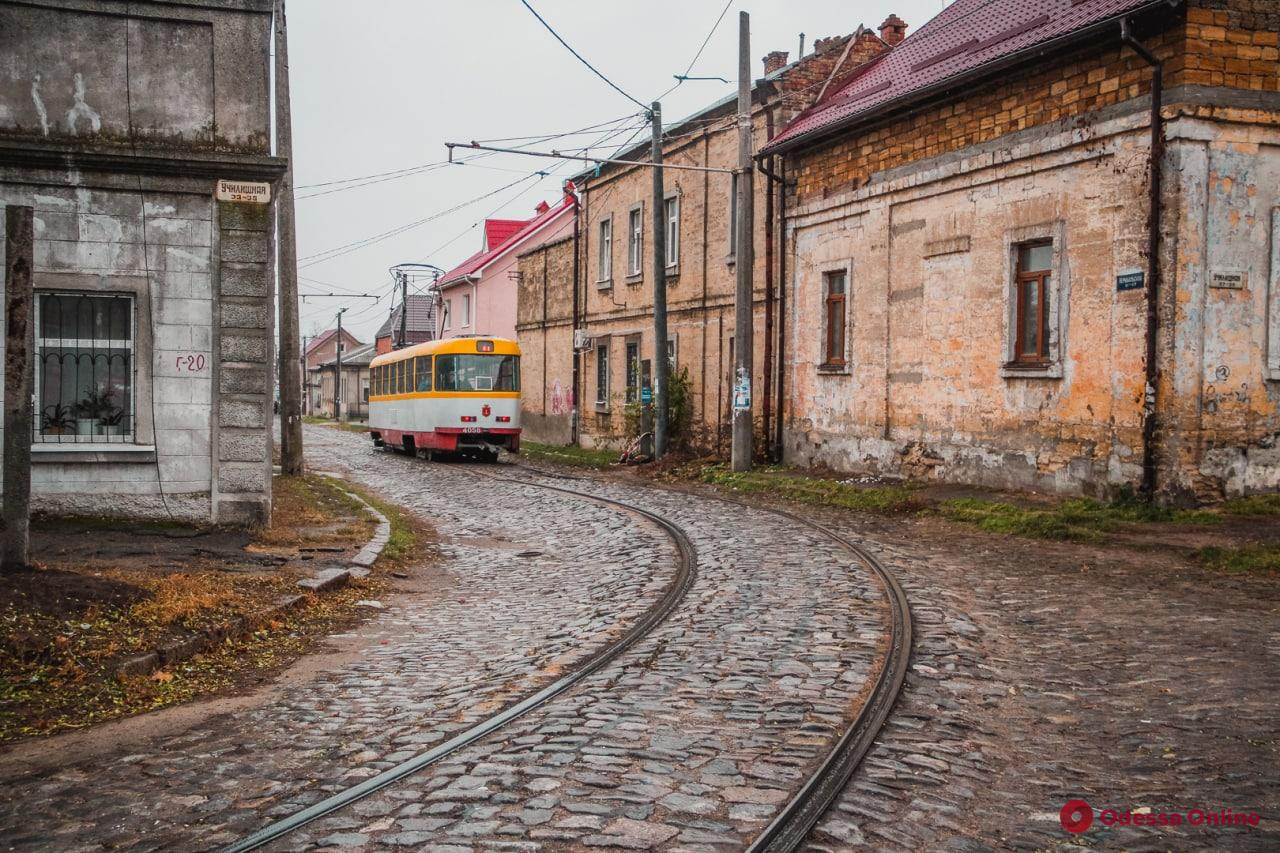 Одесса: трамвай №12 изменит маршрут минимум до осени