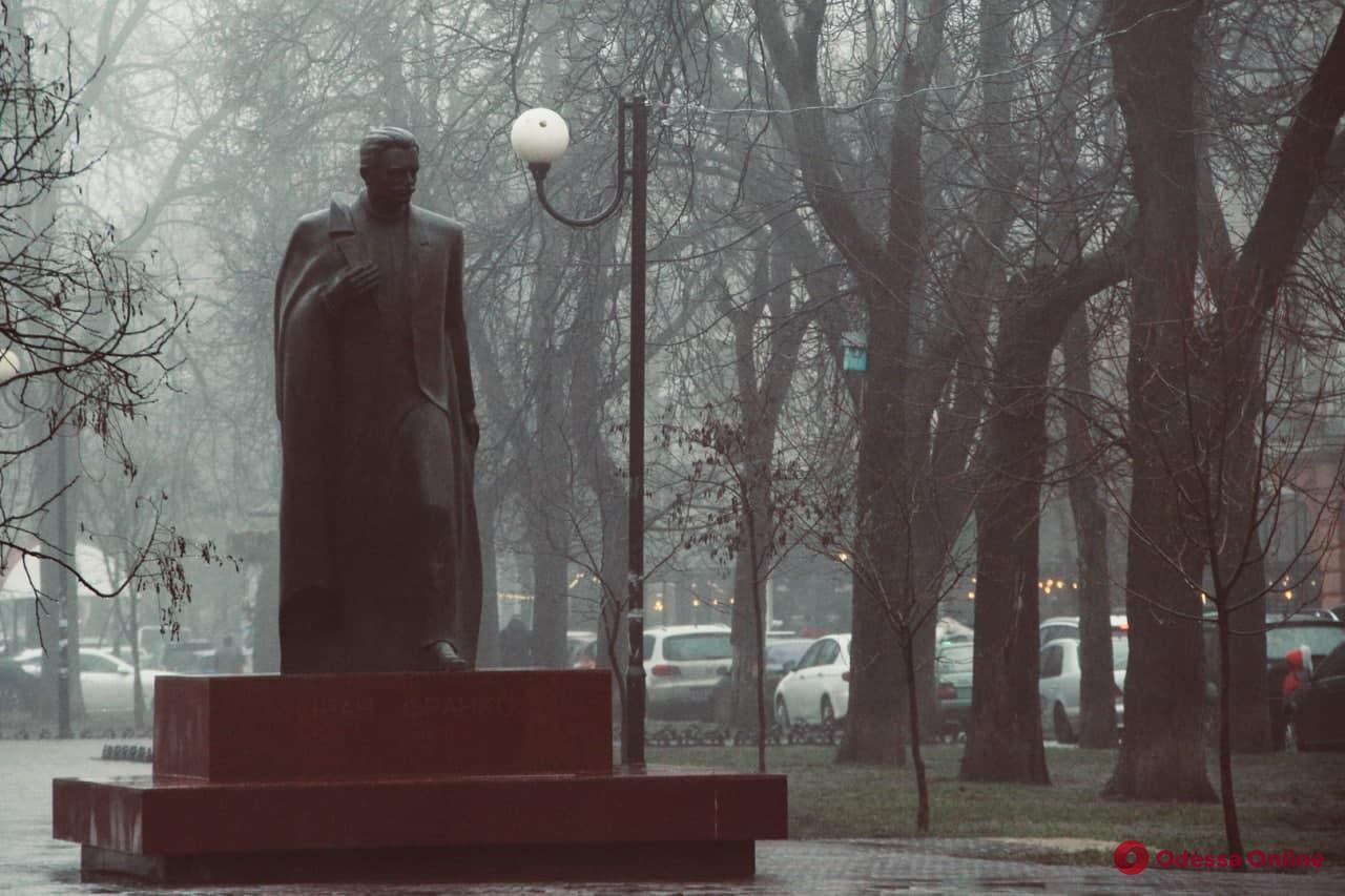 Предновогодняя Одесса в тумане (фоторепортаж)