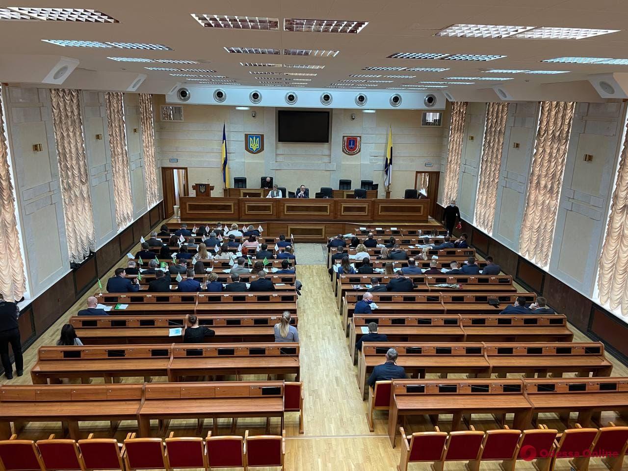 Началась вторая сессия Одесского райсовета (обновляется)