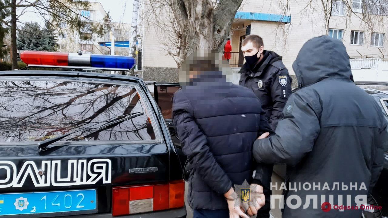 В Одесской области разбойник ограбил инвалида