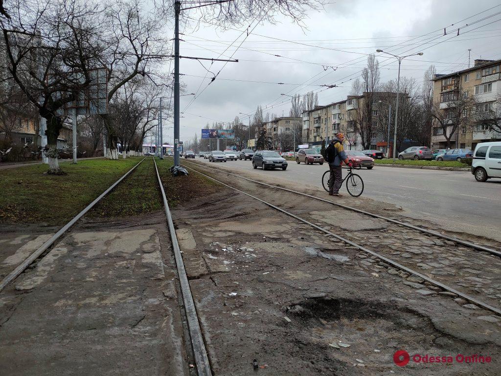 Авария на Люстдорфской дороге заблокировала движение трамваев