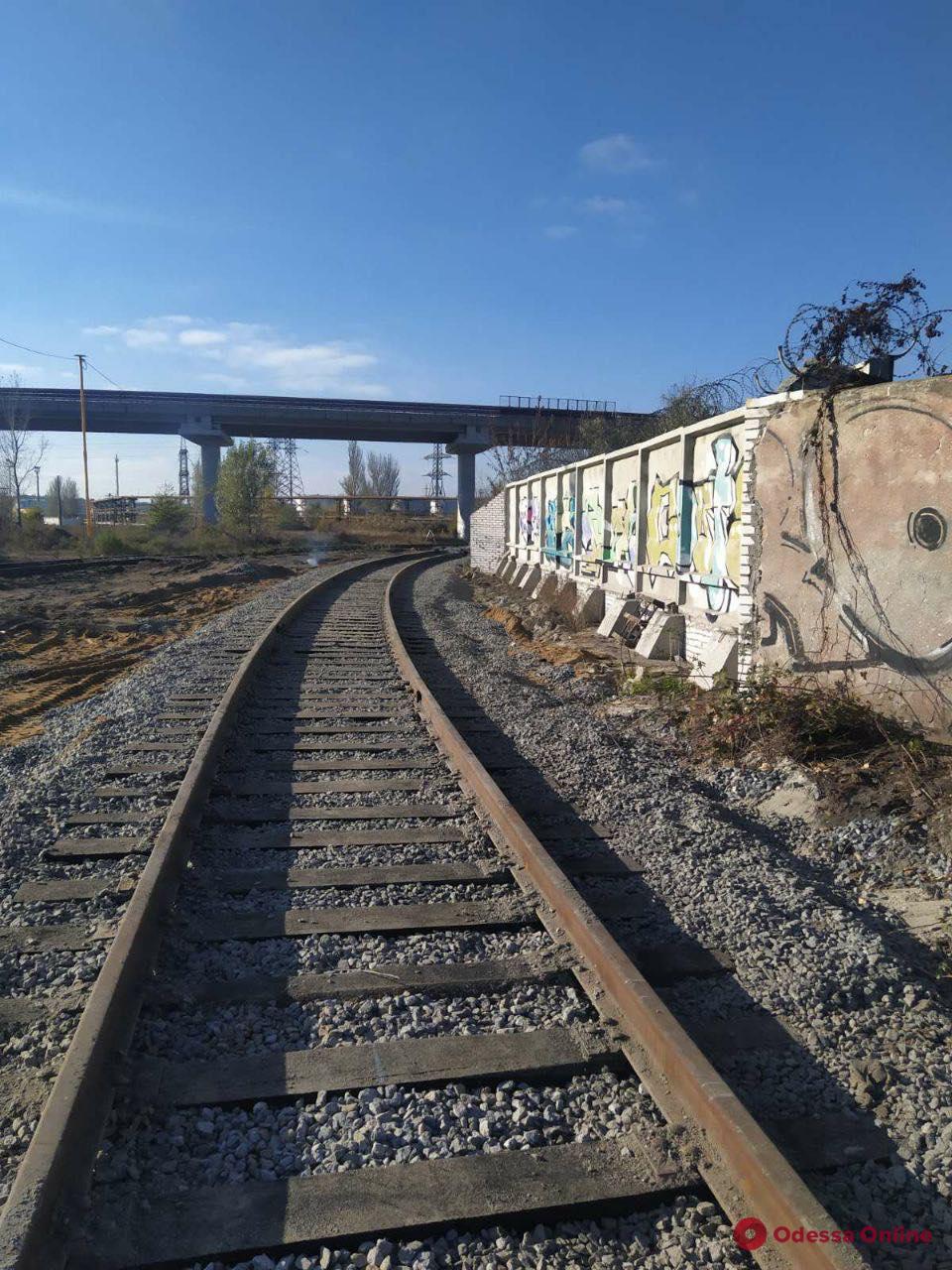 «Евротерминал» завершил строительство железной дороги в Одесский порт