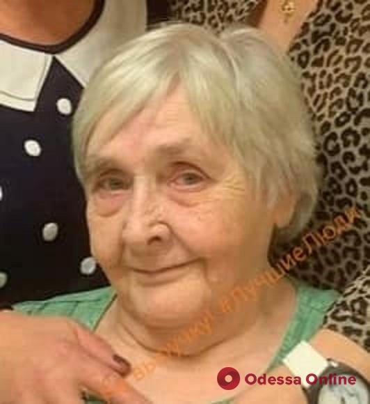 В Одессе пропала 78-летняя женщина