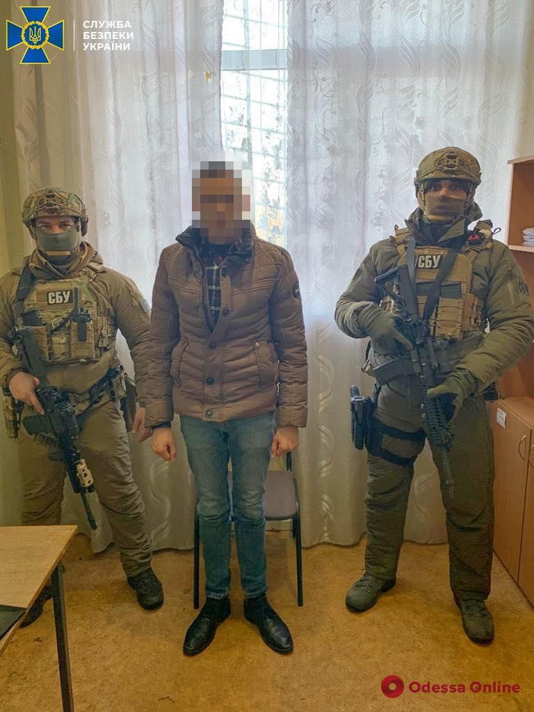 В Одесской области контрразведка задержала сотрудника «МГБ ЛНР»