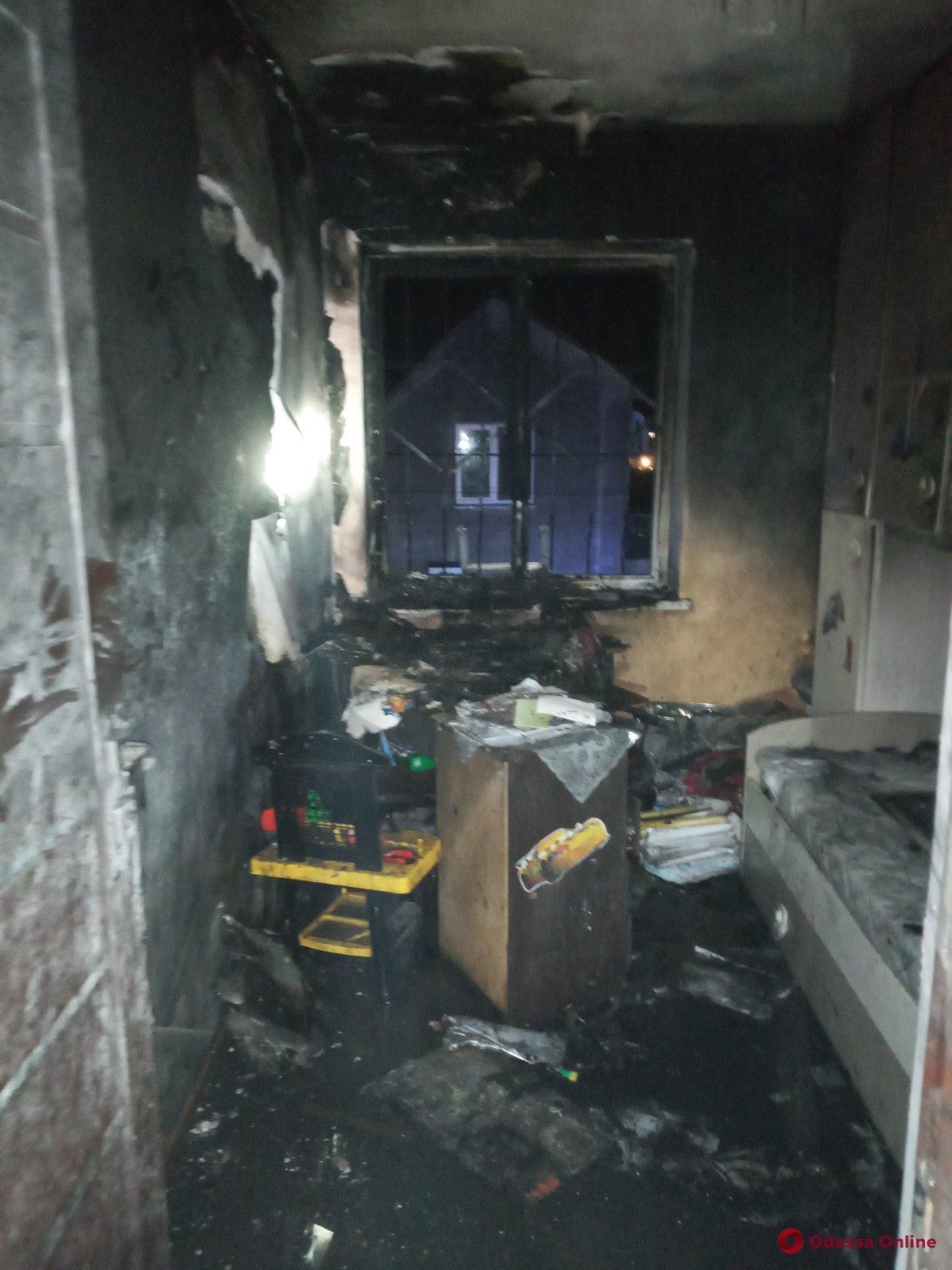 Под Одессой горел частный дом — хозяйка в реанимации