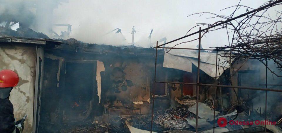 Одесская область: еще одна смерть при пожаре