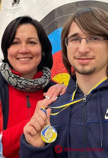 Одессит стал чемпионом Украины по стрельбе из блочного лука