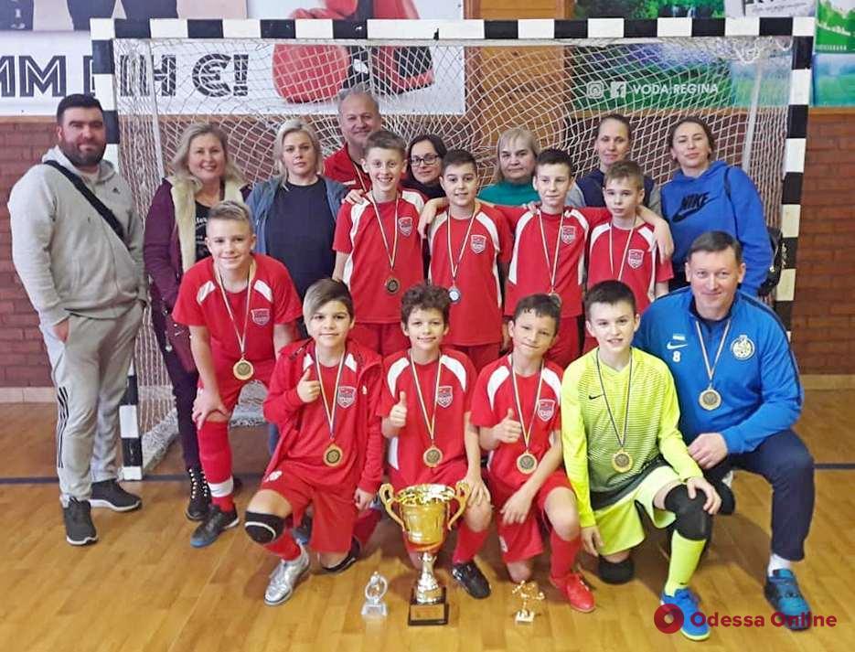 Футзал: команда из Черноморска завоевала титул чемпиона Украины