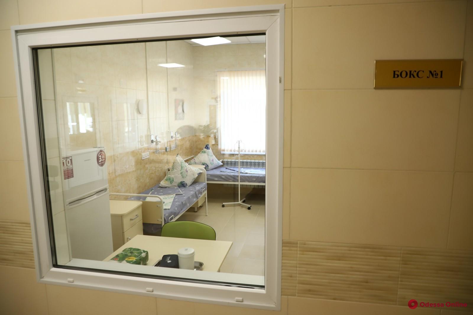 В опорных больницах Одессы есть 222 свободных койки для пациентов с COVID-19