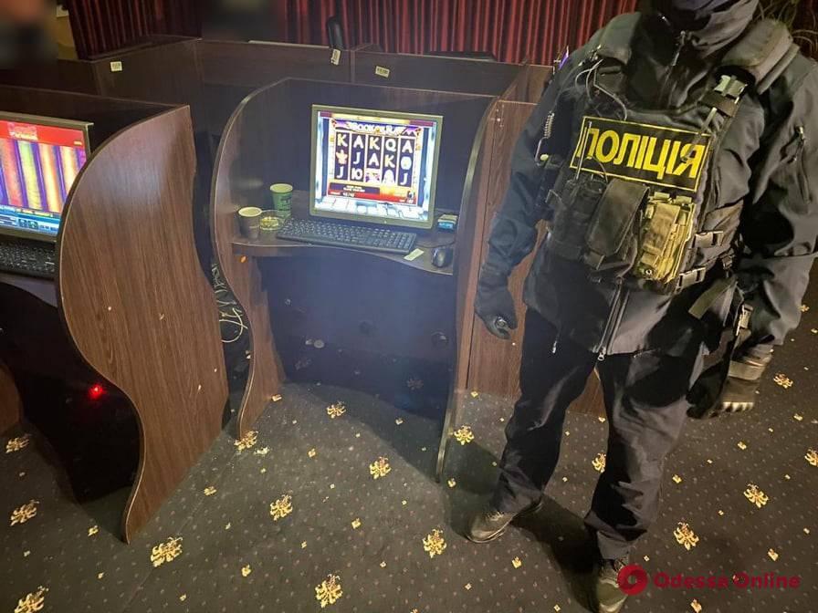 В Одессе закрыли подпольное казино