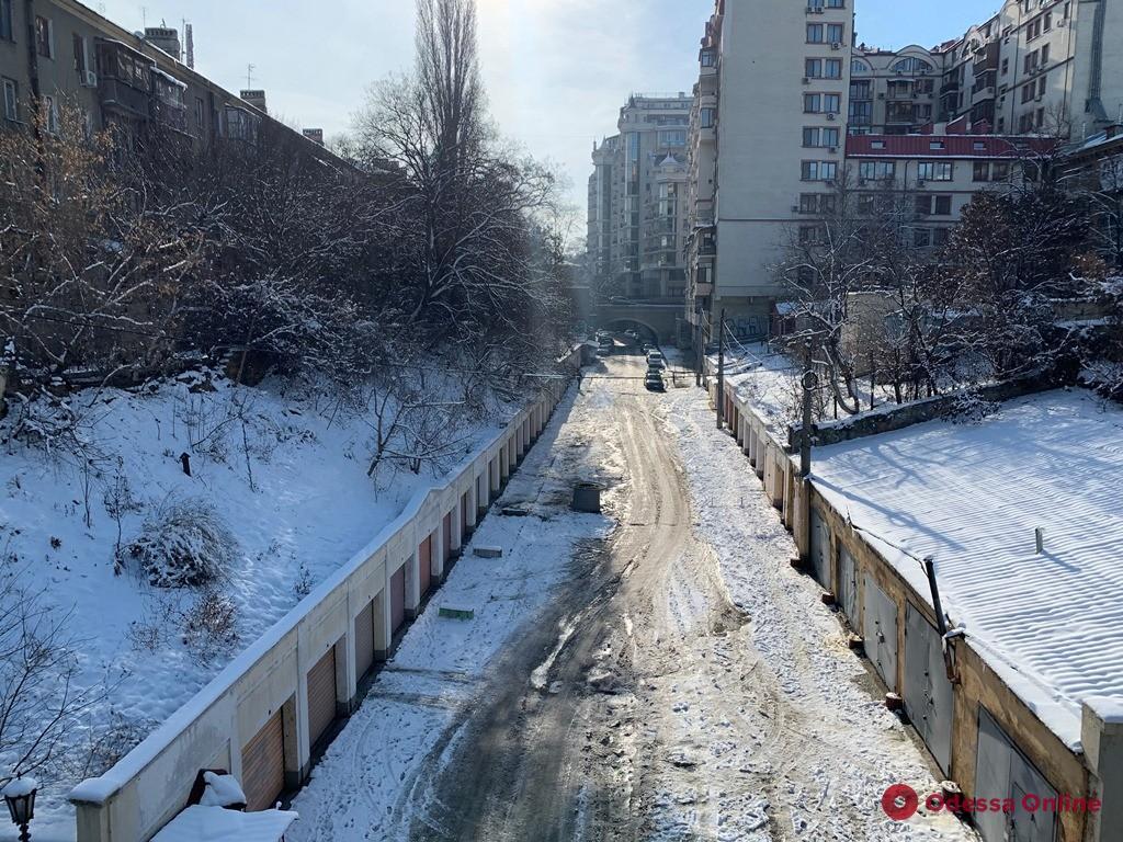 В Одессе проводится капремонт Деволановского спуска