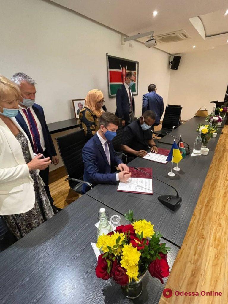 У Одессы появился еще один город-партнер в Африке