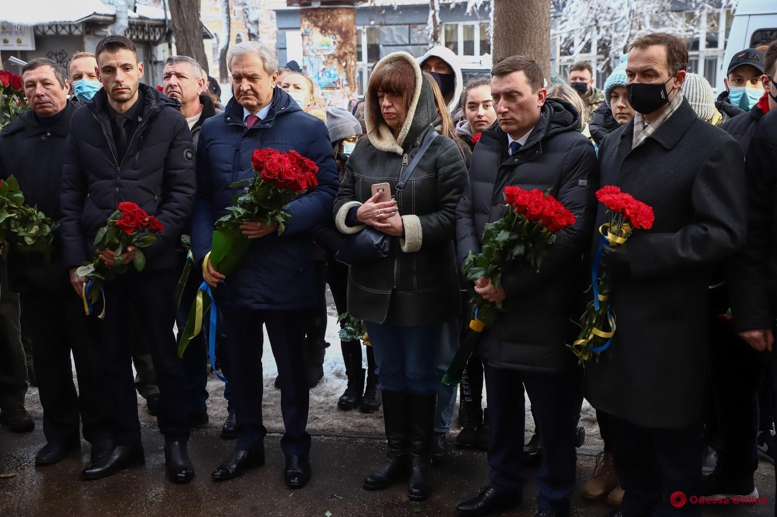 В Одессе почтили память героев, павших в бою под Крутами (фото)