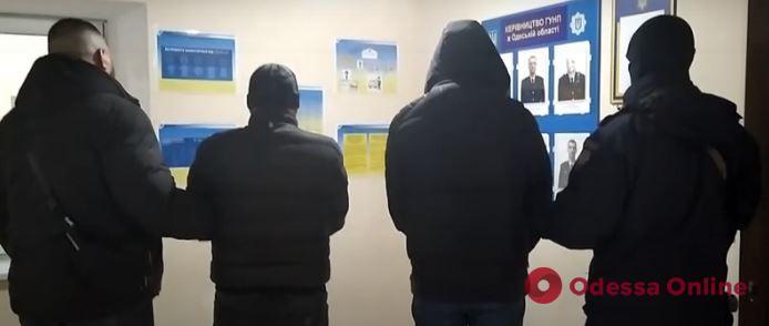 В Одессе полиция задержала троих домушников из Закавказья