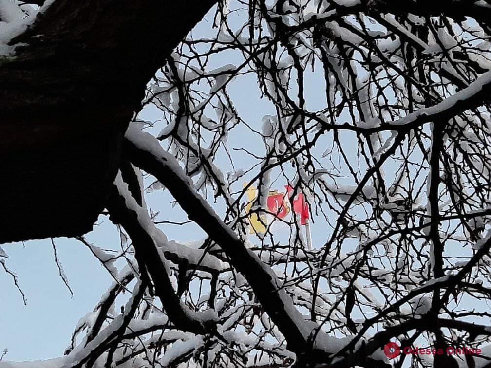 На понедельник в Одессе объявлено штормовое предупреждение