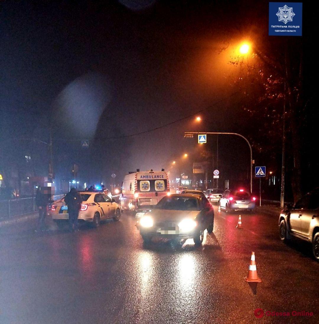 На Фонтане сбили двух пешеходов