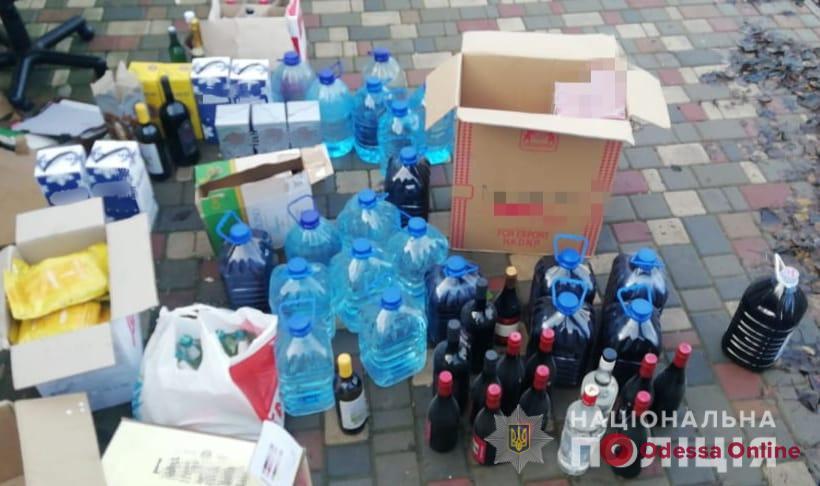 В Одесской области полицейские изъяли две тонны контрафактного алкоголя