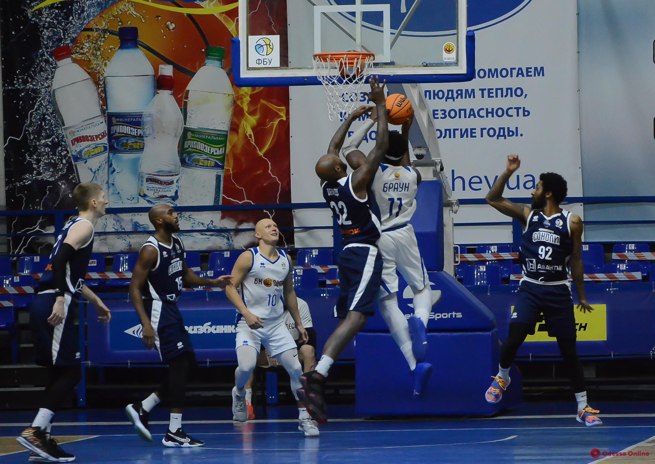 Баскетбол: «Одесса» проиграла свой самый результативный матч в сезоне