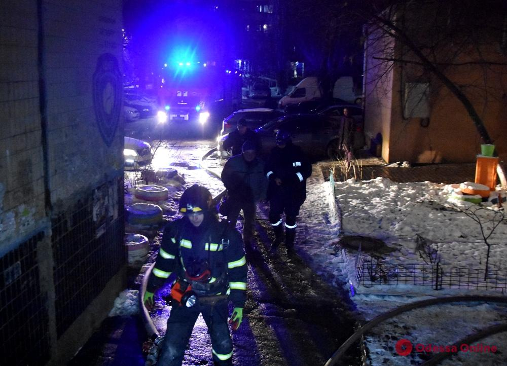 В многоэтажке на поселке Котовского произошло возгорание