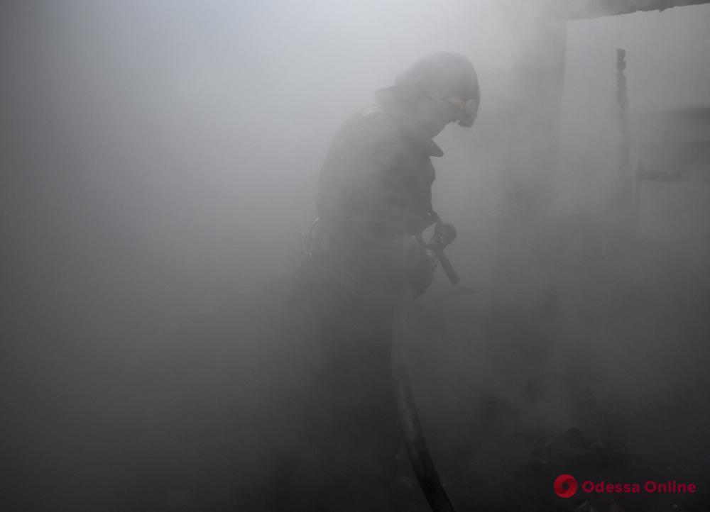 В Овидиопольском районе при попытке самостоятельно потушить пожар пострадал мужчина