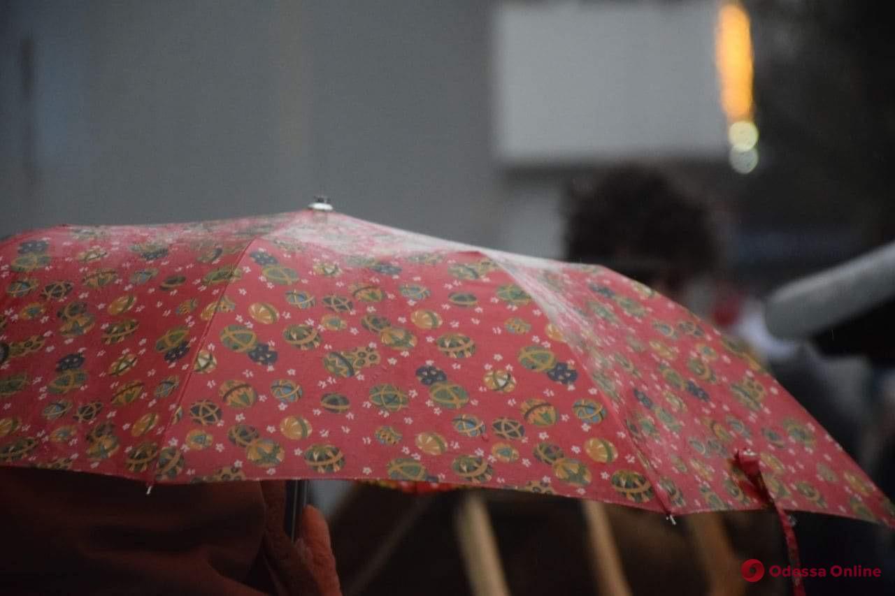 О погоде в воскресенье: в Одессе ночью и днем ожидается дождь