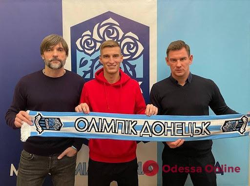 Футболист «Черноморца» перебрался в «Олимпик»