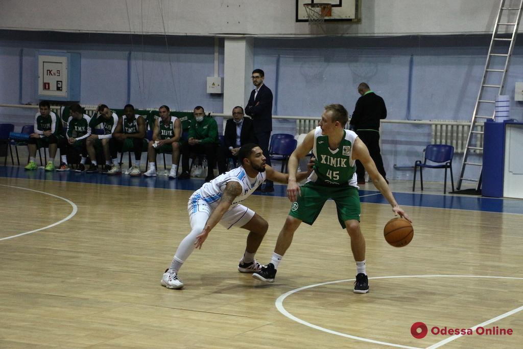 Баскетбол: «Одесса» проиграла в Черкассах, «Химик» без главного тренера победил в Николаеве