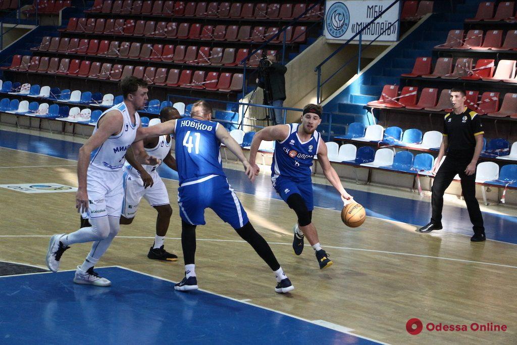 Баскетбол: «Одесса» проиграла в Николаеве, «Химик» прервал победную серию в Черкассах