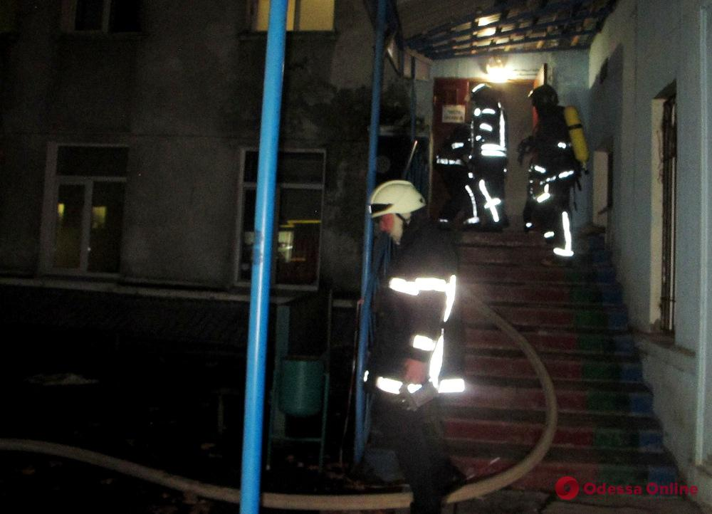 В одесской больнице произошло возгорание