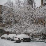снег погода
