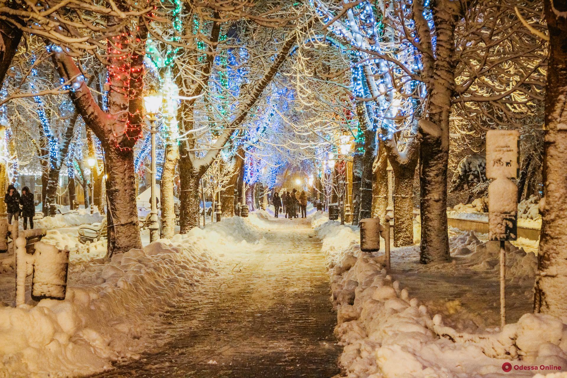 Ночью в Одессе столбик термометра опустится до -11