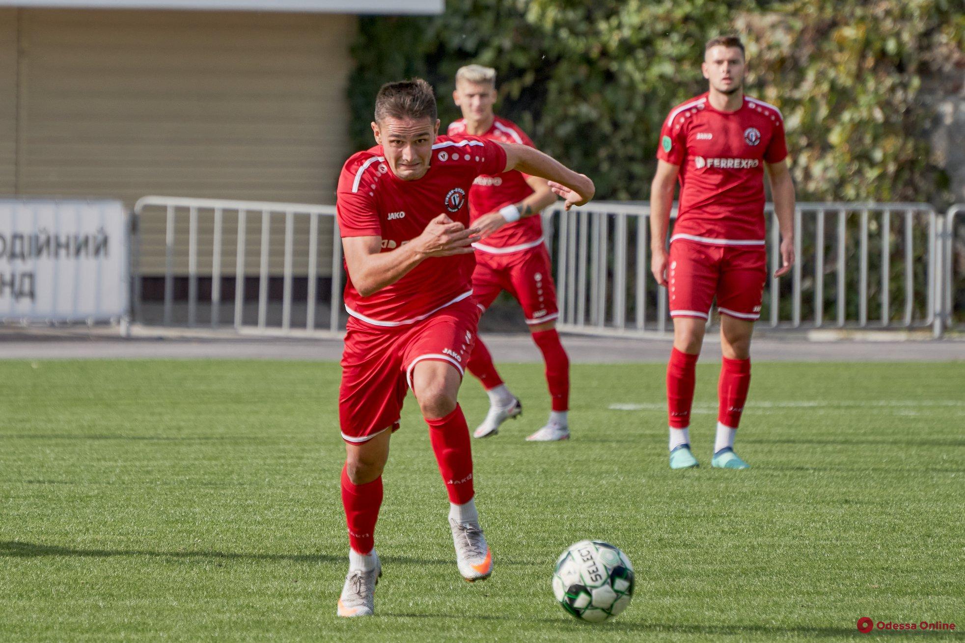 Футбол: одесский нападающий может продолжить карьеру в клубе Премьер-лиги