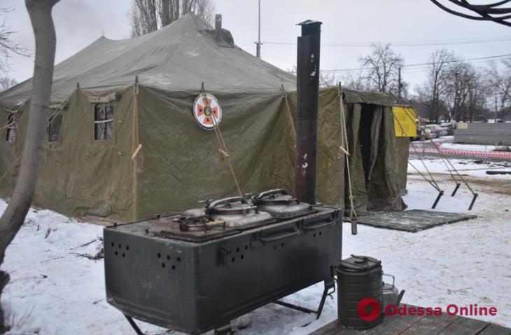 Спасатели свернули пункт обогрева на поселке Котовского
