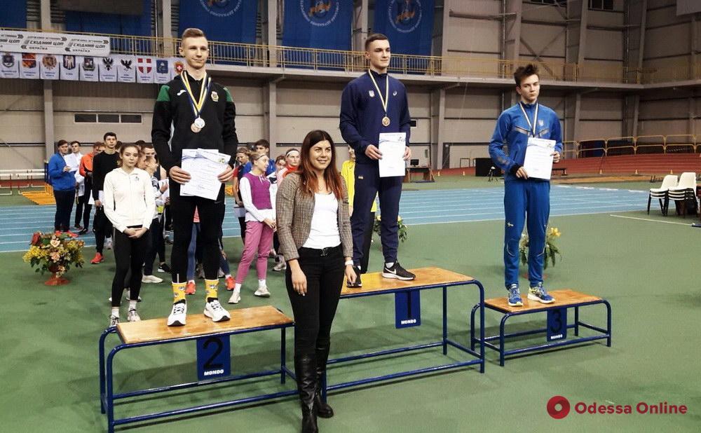 Легкая атлетика: представители Одесской области завоевали медали всеукраинского турнира