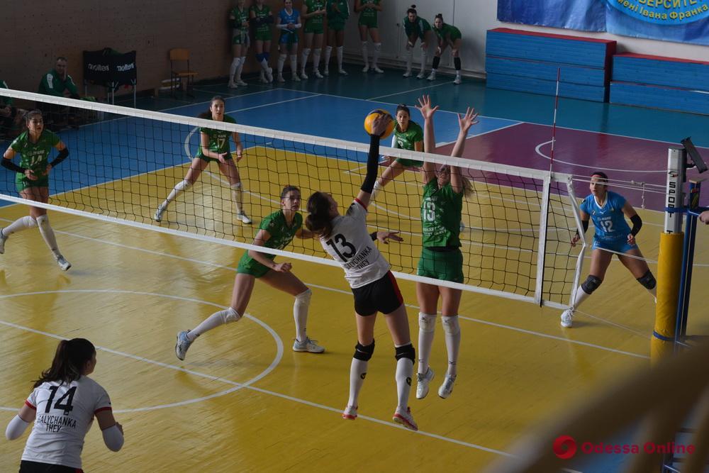 Волейбол: «Химик» без проблем обыграл соперниц из Тернополя