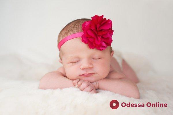 В Одессе в новом году первой родилась девочка