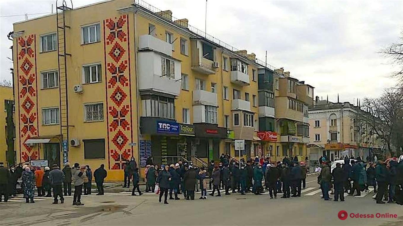 В Измаиле протестовали против высоких тарифов на коммунальные услуги