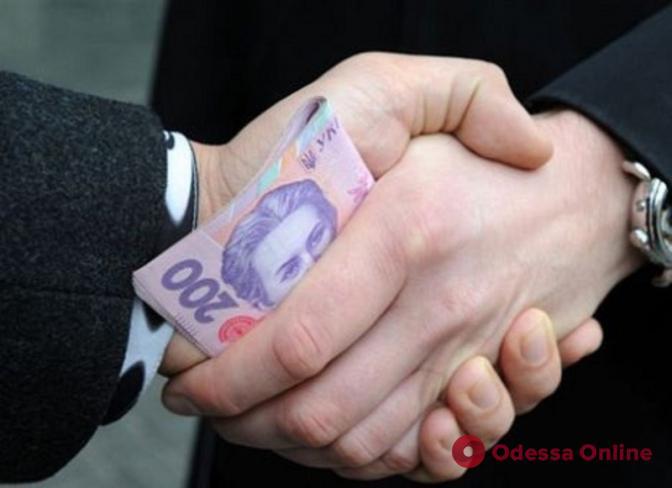 В Одесской области главу сельсовета поймали на взятке