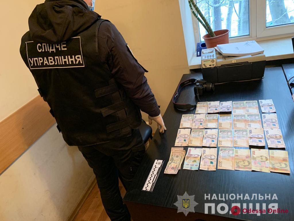 В Одессе чиновника Гоструда поймали на взятке