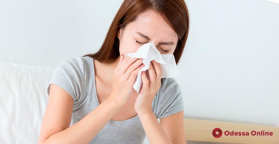 В Одессе на 17,5% снизилась заболеваемость гриппом и ОРВИ