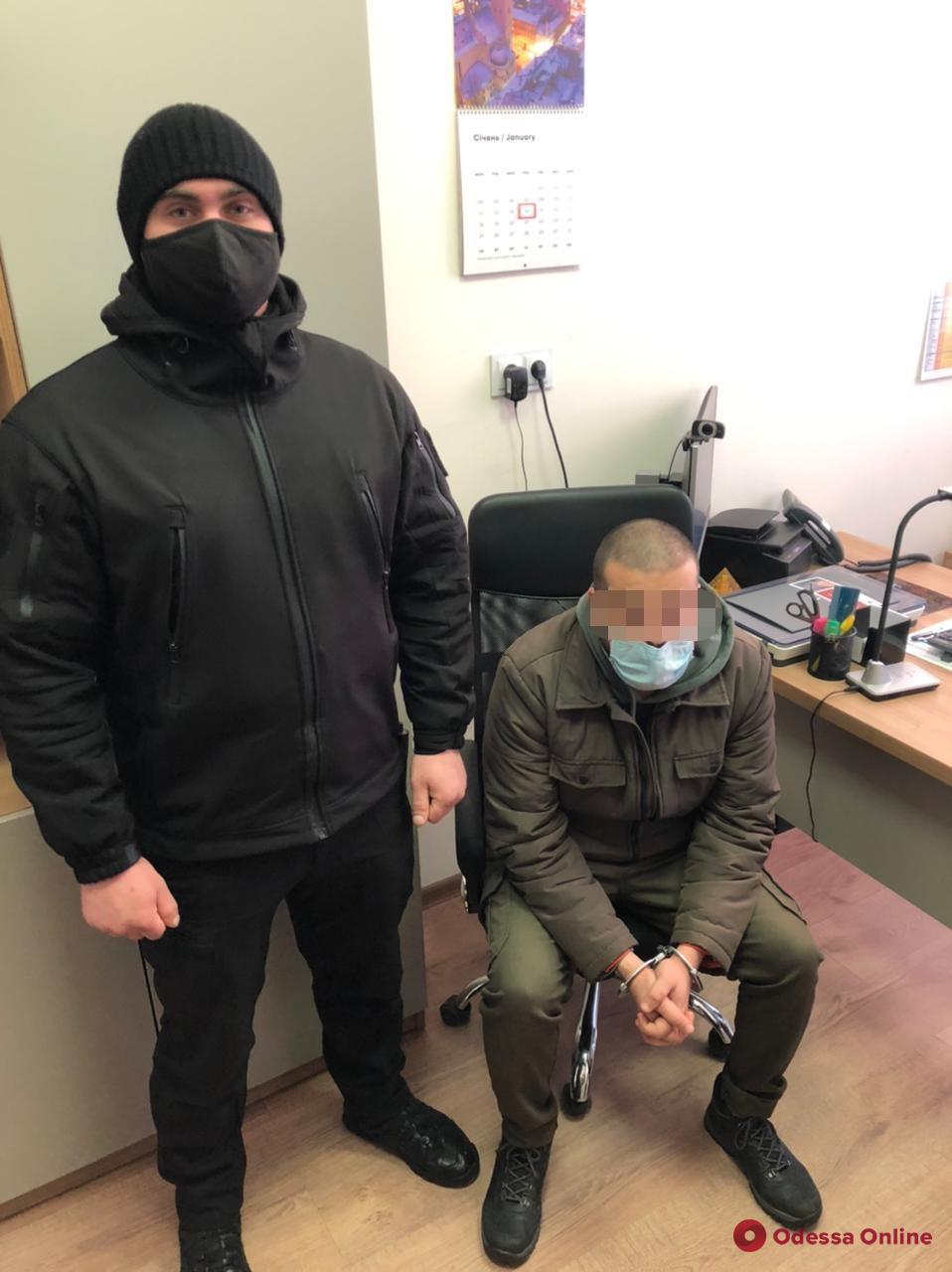 В Одесской области пограничники задержали иностранца, разыскиваемого за изнасилование