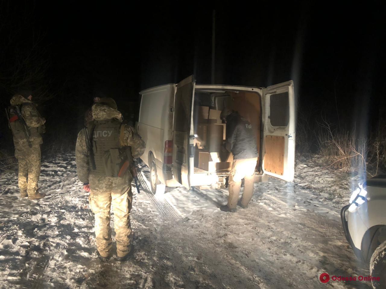 В Одесской области пограничники изъяли контрабандных сигарет почти на полмиллиона