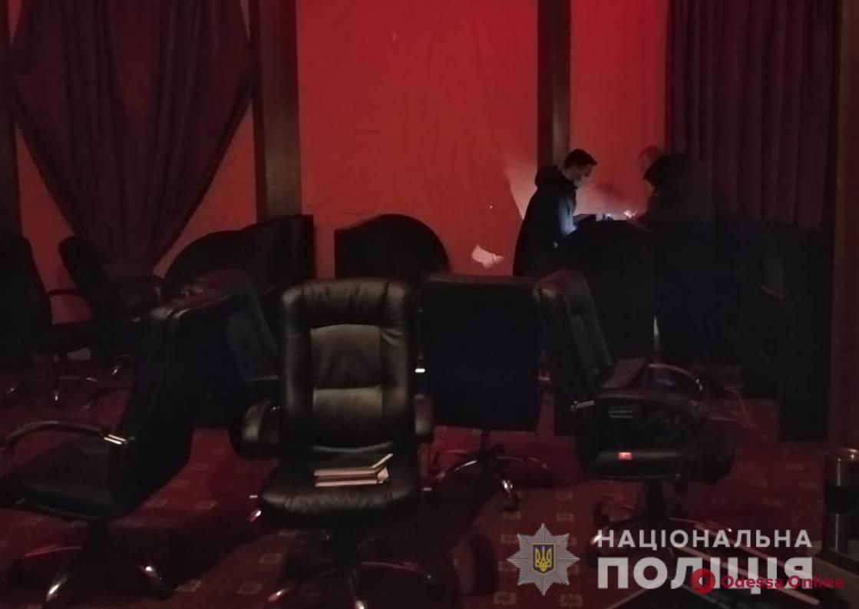 Одесские полицейские закрыли три подпольных казино